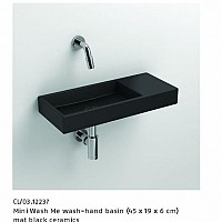 ALSADESIGN-CBF_ Model MINI_WASH_ME - mat black ceramics