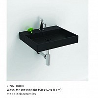 ALSADESIGN-CBF_ Model WASH_ME- mat black ceramics