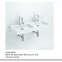 ALSADESIGN-CBF_ Model WASH_ME_DOUBLE- mineral marble