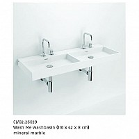 ALSADESIGN-CBF_ Model WASH_ME_DOUBLE - mineral marble