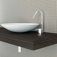 ALSADESIGN-MMD_ Model Cuvette Elipse Top in Wenge